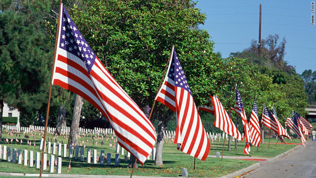 Show your national pride on Memorial Day by displaying the flag -- but be sure to consult the flag code before you do.