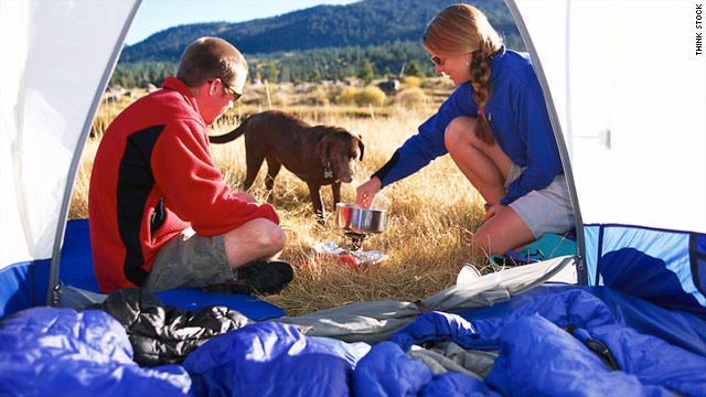 Camping necessities, like sleeping bags, have come a long way from their origins.