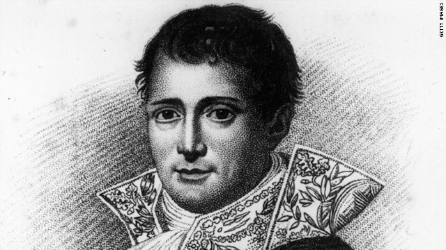 Joseph Bonaparte once reigned over Spain, but later discovered a better life living in New Jersey.