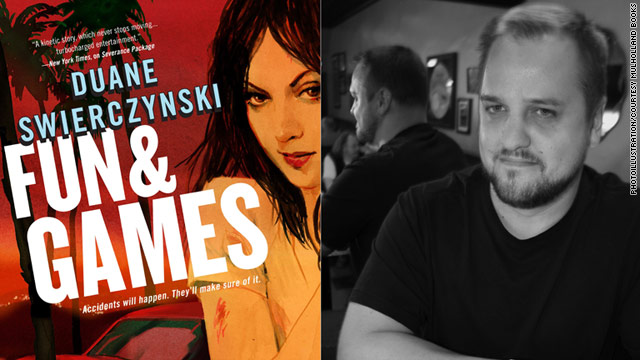 "Modern pulp fiction author Duane Swierczynski is the mind behind new novel ""Fun & Games."""