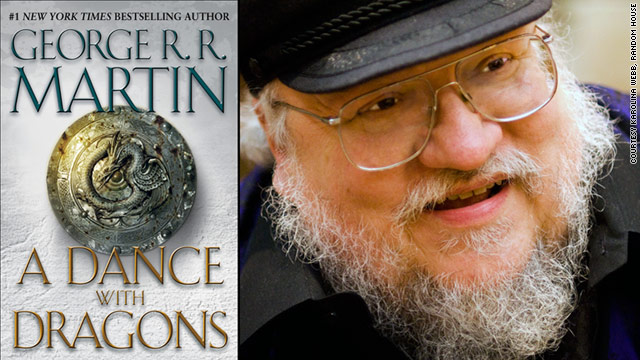 It took George R.R. Martin a lot longer than he thought to write his latest book.