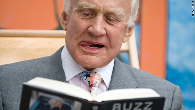 "Buzz Aldrin, the second man to walk on the moon, chronicles his life as an astronaut in ""Magnificent Desolation."""