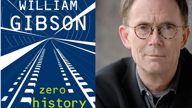 "Sci-fi author William Gibson's latest book, ""Zero History,"" will be released on Tuesday."