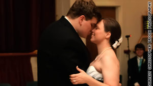 Andy Hudson proposed to Brittany while studying at Columbus State University. The two got married one year later.