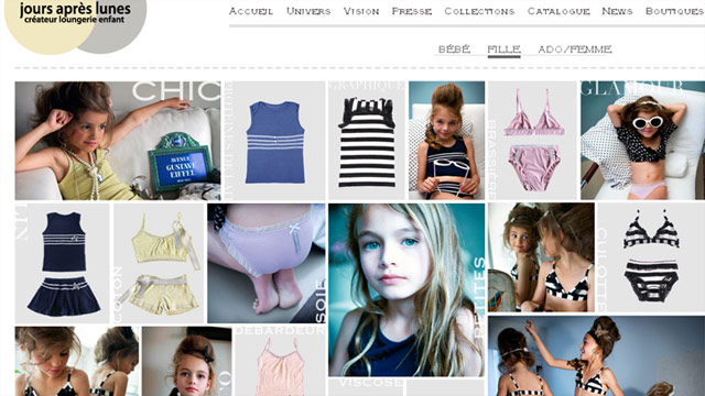 "The company's mission is to be ""the first designer brand dedicated to 'loungerie' for children and teenagers."""