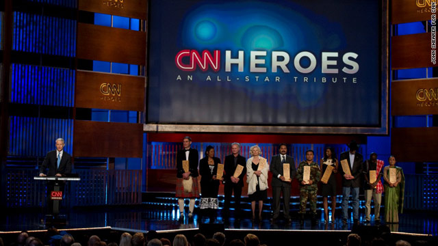 "CNN Announces More Celebrities to Fifth Annual ""CNN Heroes: An All-Star Tribute"""