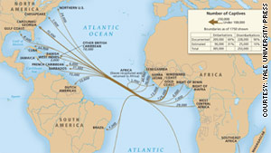 "The new ""Atlas"" of the slave trade provides 189 maps tracing the voyages."