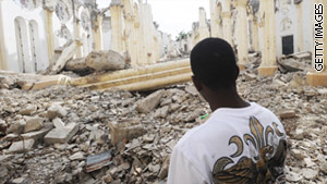 A year after an earthquake devastated Haiti, reconstruction has barely begun.