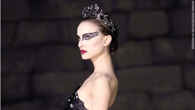 "Natalie Portman is nominated for an Oscar for her performance in ""Black Swan."""