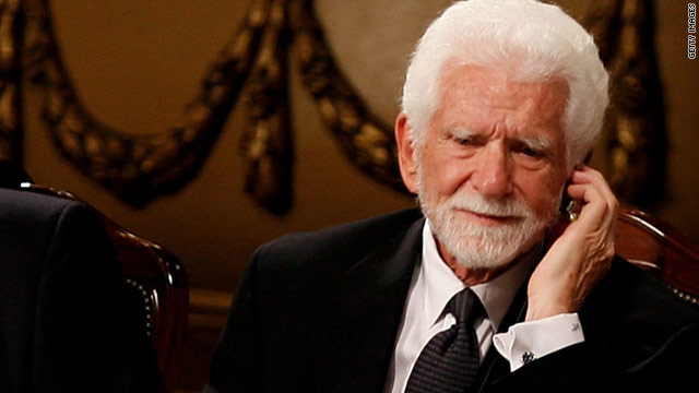 Martin Cooper at a 2009 ceremony in the northern Spanish city of Oviedo where he received a research award.