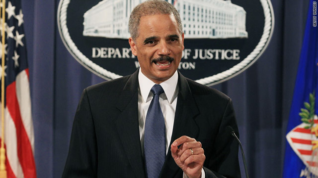 Attorney General Eric Holder announces that Khalid Sheikh Mohammad will be tried by a military commission.