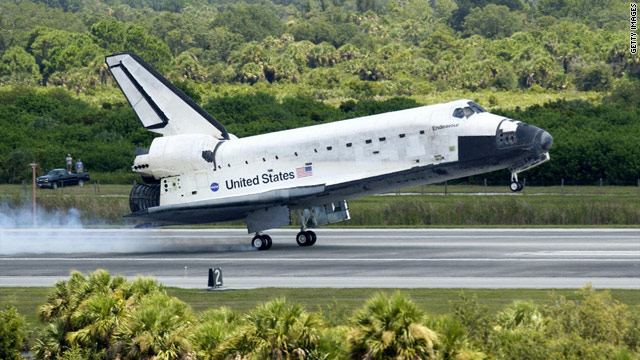 The space shuttle Endeavor will retire at the California Science Center in Los Angeles.