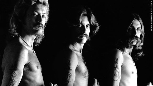 "70's Chicago band Aliotta Haynes Jeremiah, pictured in their mustaches and muscles days, had a big hit with ""Lake Shore Drive."""