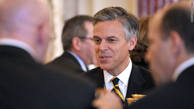 Jon Huntsman, above, would bring civility and pragmatism to the GOP 2012 ticket, says CNN contributor John Avlon.