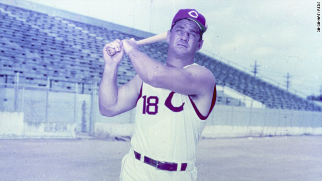Ted Kluszewski was a fearsome slugger in the days when the Reds were called the Redlegs.