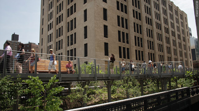 Nicolaus Mills says the newly opened second section of the High Line park is a successful case of reclaiming an urban ruin.