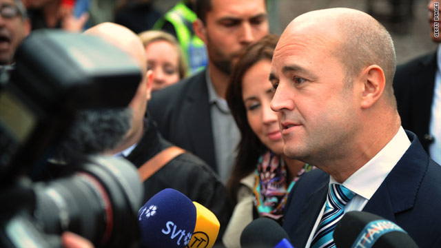 Swedish Prime Minister Fredrik Reinfeldt is a conservative in the manner of Britain's David Cameron, according to David Frum.
