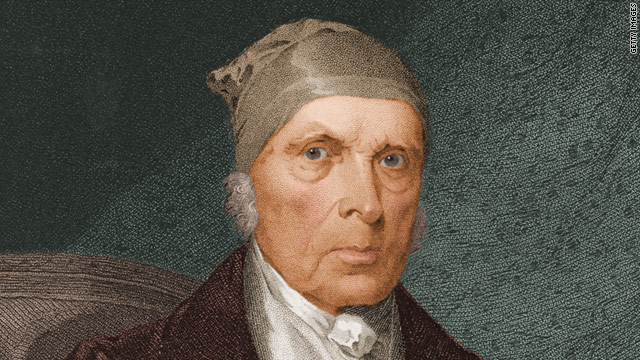 "This 1830  painting shows an elderly James Madison, ""Father of the U.S. Constitution"" and the fourth U.S. president."