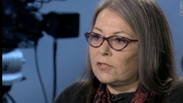 "Actress Roseanne Barr appeared on ABC's ""Nightline"" on Tuesday."
