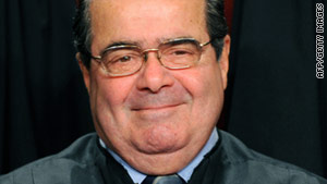 "If ""society wants to outlaw discrimination by sex, hey, we have things called legislatures,"" Antonin Scalia said."