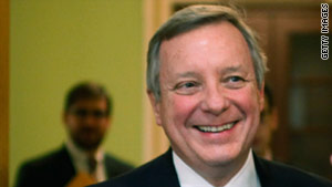 Sen. Richard Durbin, D-Illinois, criticized Republicans' attempts to repeal health care reform.