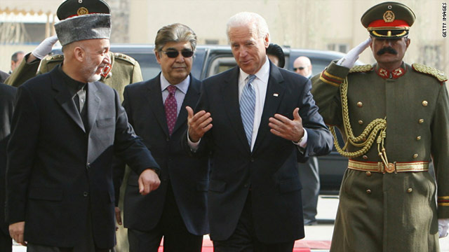 Did Biden commit U.S. to longer engagement in Afghanistan?
