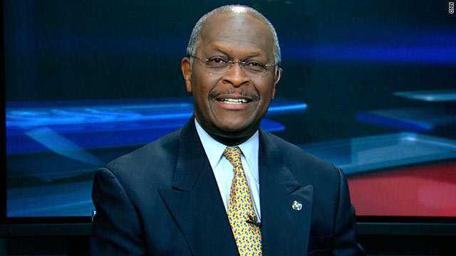 Herman Cain is the former CEO and president of Godfather's Pizza.