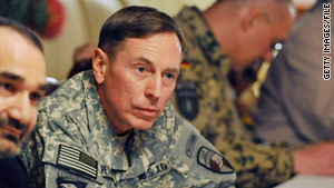Gen. David Petraeus is one of only 12 four-star generals in the U.S. Army.