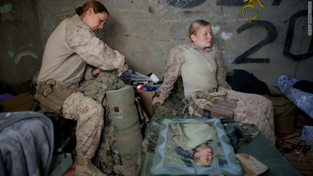 A commission's draft report said restricting women from combat is out of touch with the demands of modern warfare.