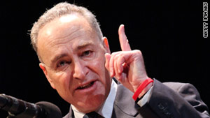 Sen. Chuck Schumer is among the negotiators considering filibuster changes.