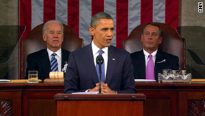 "President Obama touches on bipartisanship, the economy and our ""Sputnik moment"" in the State of the Union speech."