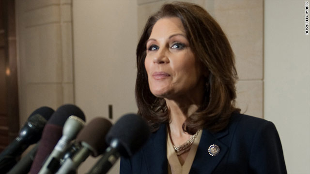 Rep. Michele Bachmann, R-Minnesota, is chairwoman of Congress' Tea Party Caucus.