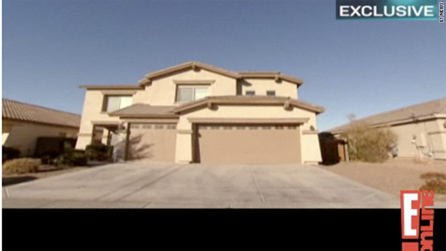 E! News was granted access to Bristol Palin's new home in Arizona.