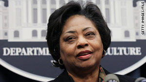 Former USDA official Shirley Sherrod has filed suit against blogger Andrew Breitbart.
