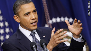 The government must live within its means while investing in the future, President Obama says.