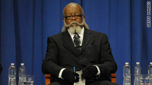 Jimmy McMillan of the Rent is Too Damn High Party was a candidate in New York's gubernatorial race.