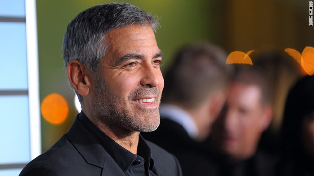 Actor George Clooney says his past would haunt him if he ran for office.