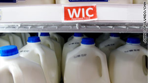 Milk, which makes up about 20% of WIC program expenditures, has declined in price.