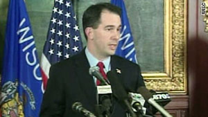 Gov. Scott Walker's legislation limits the collective bargaining rights of unions.