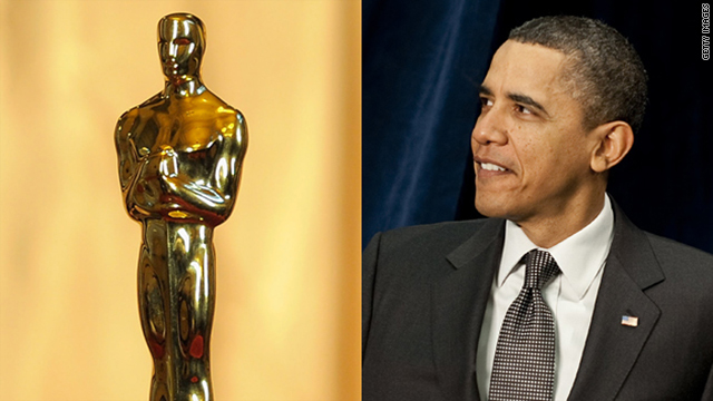 "President Obama made an ""appearance"" at Sunday's Academy Awards show."