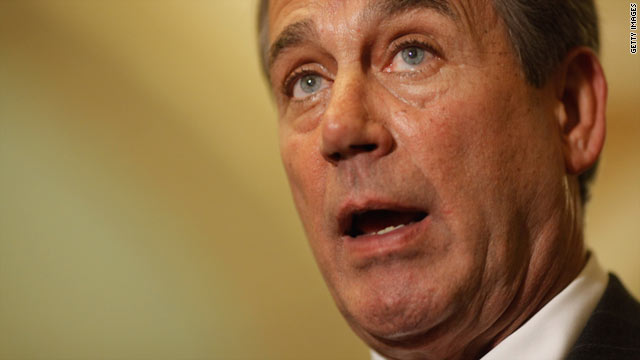 House Speaker John Boehner faces a hard time compromising with Democrats since many GOP freshman insist on deep cuts.