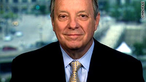 Sen. Dick Durbin says he opposes more cuts to domestic discretionary spending.