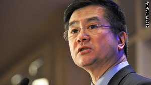 Gary Locke is a former two-term governor of Washington state, and is currently commerce secretary.