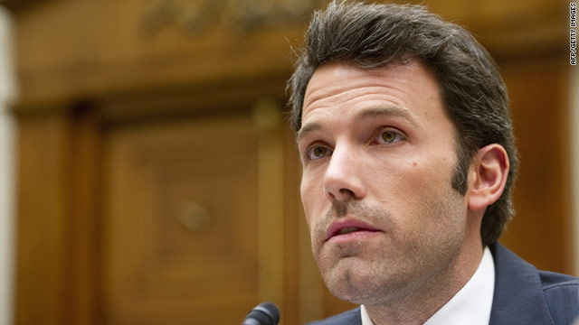 Actor Ben Affleck testifies on Congo before the House Foreign Affairs Committee.