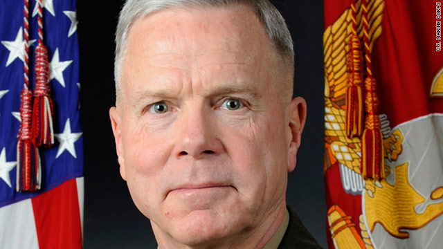 At a committee hearing Tuesday, Marine Corps Commandant Gen. James F. Amos said he thought Libya's helicopters were its greatest threat.