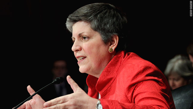 U.S. Secretary of Homeland Security Janet Napolitano testifies during a hearing before the Senate Judiciary Committee to focus on the oversight of the Homeland Security Department.