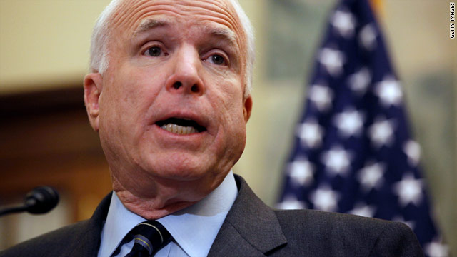 Sen. John McCain and others on the Senate Armed Services Committee will investigate counterfeit parts in military equipment.