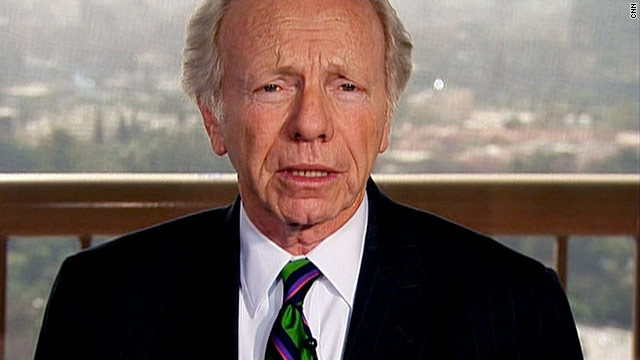Sen. Joe Lieberman says the U.S. shouldn't build new nuclear power plants until the crisis in Japan can be examined.