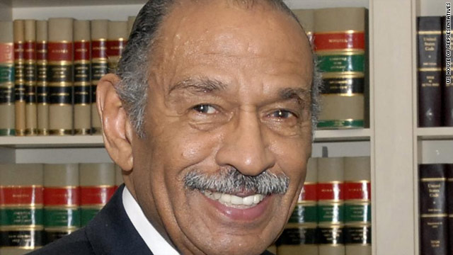 U.S. Rep. John Conyers, D-Michigan. criticized President Obama on several issues Monday, including foreign policy.