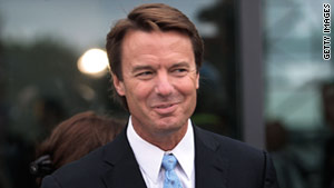 Former U.S. Sen. John Edwards has given a deposition in the lawsuit of his ex-mistress, Rielle Hunter, against his former  aide Andrew Young.